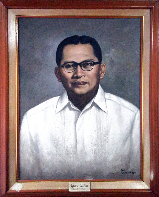 07 1950-1953 Ignacio S. Diaz by Luisito Villanueva (painted 2000)