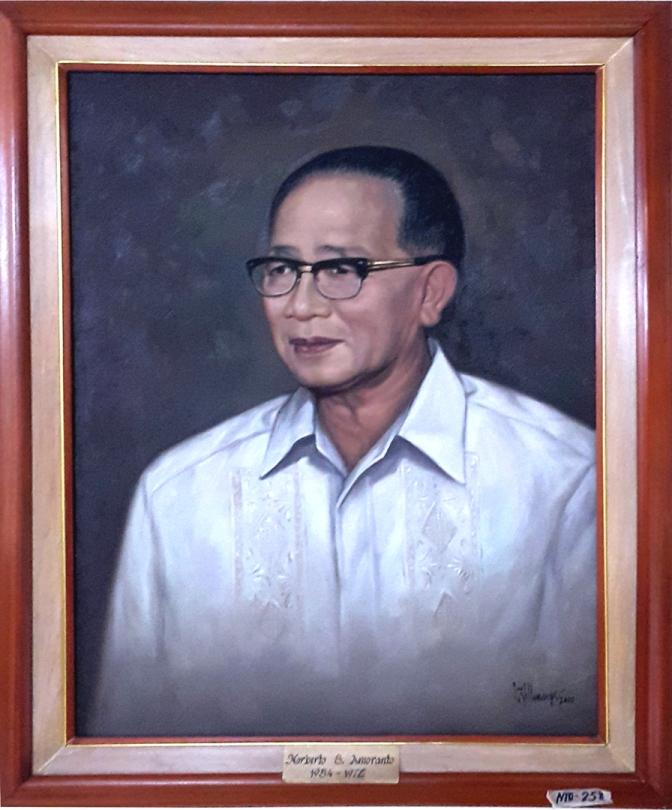 08 1954-1976 Norberto S. Amoranto by Luisito Villanueva (painted 2000)
