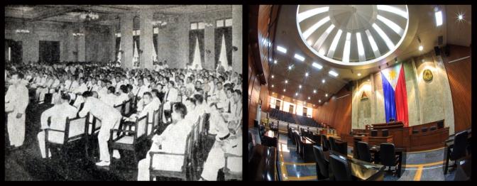 08 1971 Constitutional Convetion & the Quezon City Council Hall now