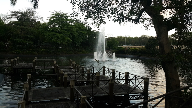 10 Quezon City Hall Park and Lagoon