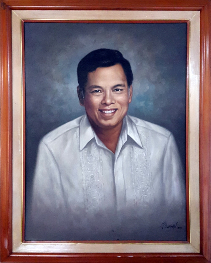 11 1992-2001 Ismael A. Mathay Jr. by Luisito Villanueva (painted 2000)
