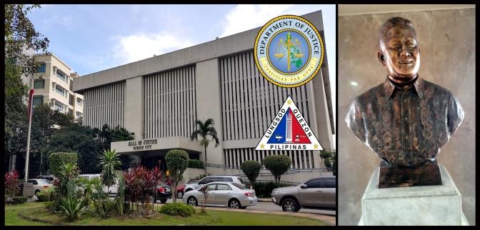 11 1992 QC Hall of Justice & Anastacio Caedo's Mayor Norberto S. Amoranto