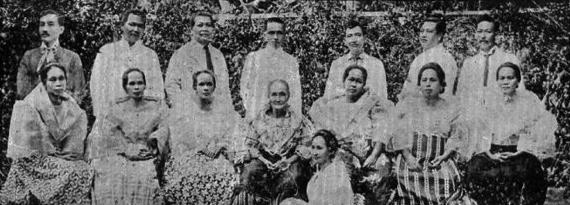 14 1890s Zamora Family