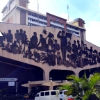 Quezon City Hall: The EREHWON murals on Philippine History