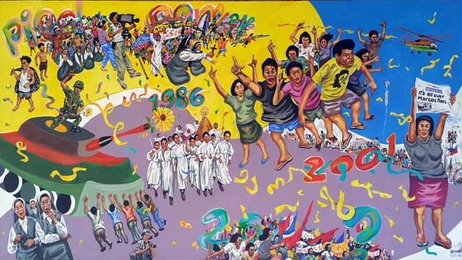 33 Pablo Baen Santos - 1986 People Power Revolution