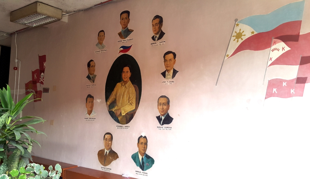 1980 Mural of the Presidents of the Philippines and History of Philippine Flags, Lungsod ng Kabataan